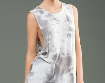 Wholesale Only - Deep Side Cut Marble Dye Tank