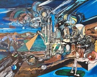 NYC Revisited--Fantasy Landscape