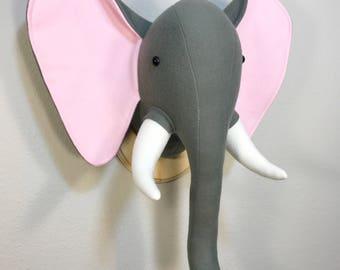 Dark grey elephant