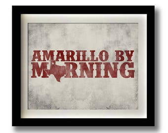 Amarillo By Morning TEXAS GEORGE STRAIT