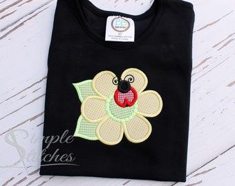 Lady Bug Flower Shirt/Dress