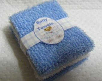 Dolls House Miniature Baby Towel Bale 1/12th Scale