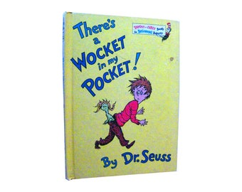 Theres a Wocket in my Pocket Dr. Seuss Childrens Book - Read Aloud Book - Early Reading - Geiseln - Childrens Library - Dr Seuss Book