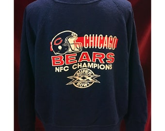 Vintage Super Soft Chicago Bears NFC Champions Sweatshirt