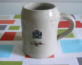 Smart Little 0.25 L Stoneware Tankard Advertising Raffles Cigarettes - Great for the Home Bar.