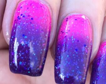 Astral Bloom  thermal nail polish