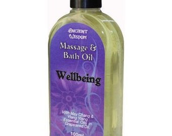 Wellbeing 100ml Massage Oil