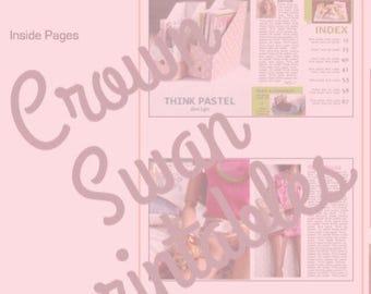24 Printable Dollhouse Magazines