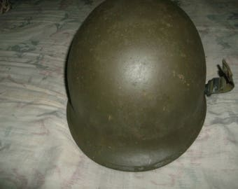 M1 helmet and liner
