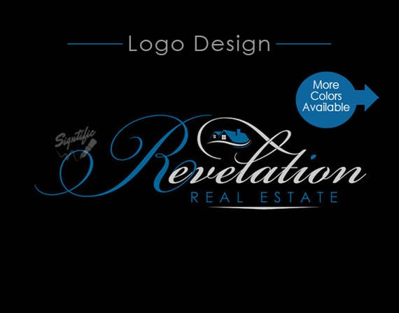 Custom Realtor Logo, Real Estate Logo Design, e-mail Signature Design, Realty Logo design in Corporate Colors, Realtor Sign Logo Design
