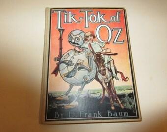 TIK-TOK of OZ by Frank Baum