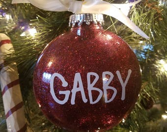 Personalized Ornament - Custom Ornament - Name Ornament - Customized Ornament - Custom Name Ornament - Made To Order Ornament