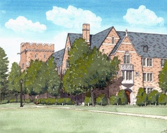 Custom School or Residence Hall Painting or Drawing