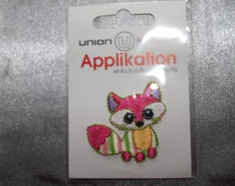 applique, theme, animal, raccoon, ironing or sewing