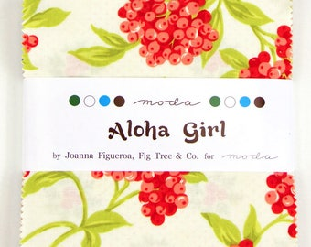 Aloha Girl by Fig Tree Quilts Charm Pack for Moda OOP HTF
