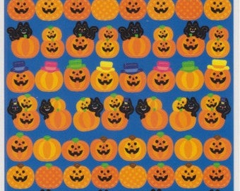Halloween Stickers - Pumpkin Stickers - Reference T4718-23