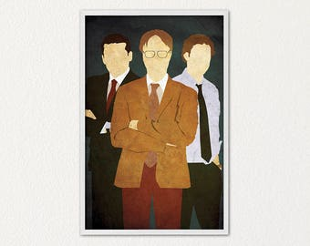 The office poster Etsy