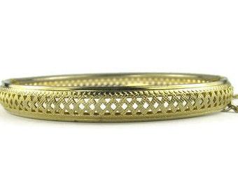 Vintage Openwork Cuff Bracelet