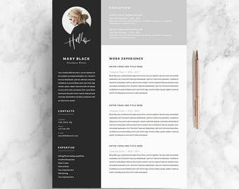 resume template and cover letter references template for word diy printable 5 pages - Resume References