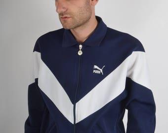 Vintage Puma Jacket Made in Spain 80'S (959)