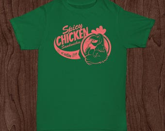 Phish - Spicy Chicken Sandwiches at Section 119 MSG Inspired Parking Lot shirt
