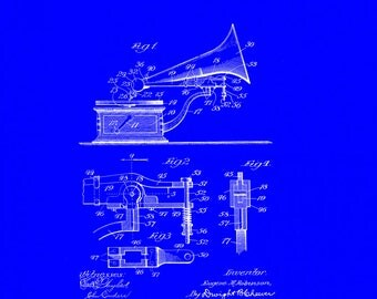 Phonograph Patent# 778271 dated December 27, 1904.