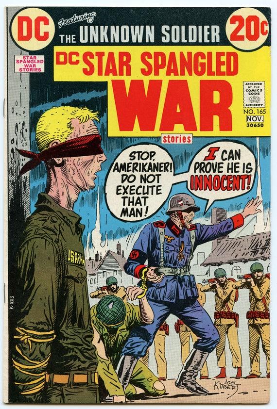 Star Spangled War Stories 165 Nov 1972 FI (6.0)