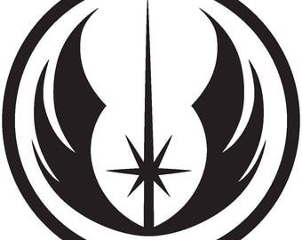 Star Wars Jedi Order Vinyl Decal Sticker
