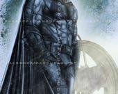 "Batman 'Justice League 2017' 11x17"" Artist Signed HiRes Print"