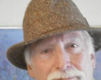 Men's Vintage Tweed Hat - 60's