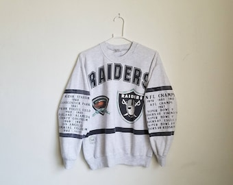 Vintage Los Angles Raiders Sweater Sz. XL