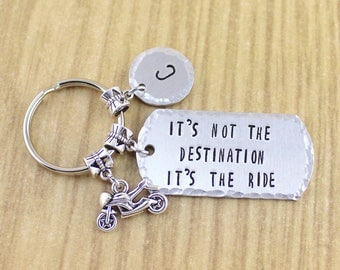 SRA 198316 Motorcycle Keychain//Motorcycle Key Ring//Motorcycle Gift//Motorcycle Accessories//Keys To The Bike//Crotch Rocket Keychain