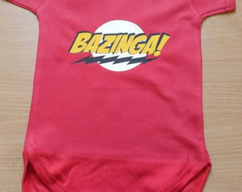 Bazinga! Vest / Body Suit / Play Suit