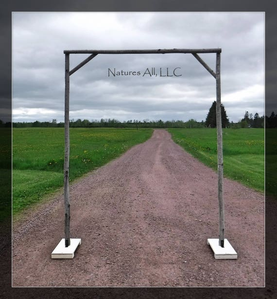 New Style Aspen Wedding Arch/Aspen Arbor/Complete Kit For Indoor Or Outdoor Weddings/Rustic Wedding Backdrop/Shipping Included