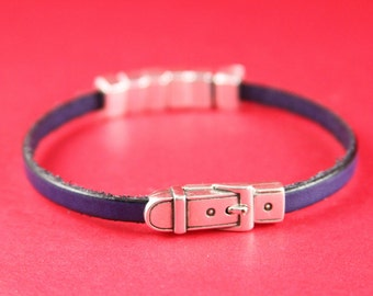 5/6 MADE in EUROPE zamak flat cord magnetic clasp, buckle zamak clasp, zamak 5mm flat cord buckle magnetic clasp (11404-0377) Qty1