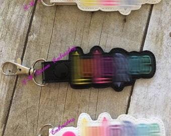 Lu la Embroidered Keychain | Advertise L L R Business | LulaBabies Gift | L L R Keychain | L L R Keyfob