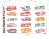 Motivational Quote Stickers | Erin Condren