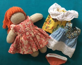 Small Waldorf Doll with clothes