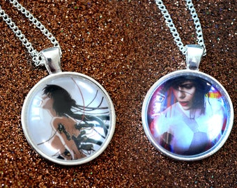 Ghost In The Shell - Anime and Live Action - Major Motoko Kusanagi Necklace