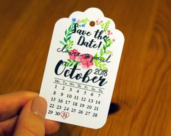 10 Custom Save The Date Tags