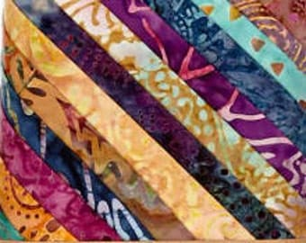 Timeless Treasures Tonga Treats Zanzibar 12 Fat Quarters Batiks