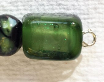 Set of Small Lamp Work Beads #5