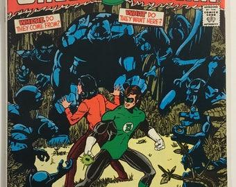 Green Lantern #141 VF+ 8.5 WP - 1st Appearance of Omega Men / George Perez - Bronze Age DC Comics 1981