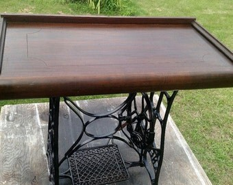 upcycled writing desk or hall table