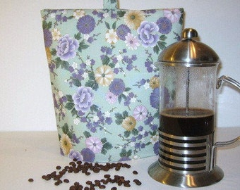 French Press Cozy, Cafetiere Cover, Coffee Pot Cosy, French Press Warmer, Coffee Pot Warmer, Coffee Cozy