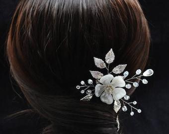 Hair pins Wedding hair pin Wedding hairpins Wedding hair clip Bridal hair pin Bobby pins Silver hair accessories for women Hair clips women