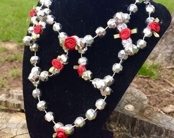 Chandelier Throw Bead Necklace