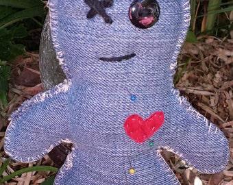 Haunted Doll Story/ Voodoo, voo doo doll, chakra , Poppet  Doll