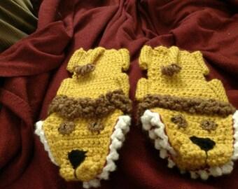 Custom Animal Slippers