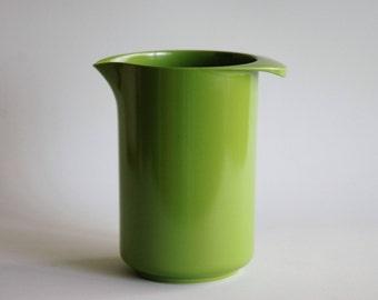 Rosti blending jug in green - vintage plastic made in Denmark